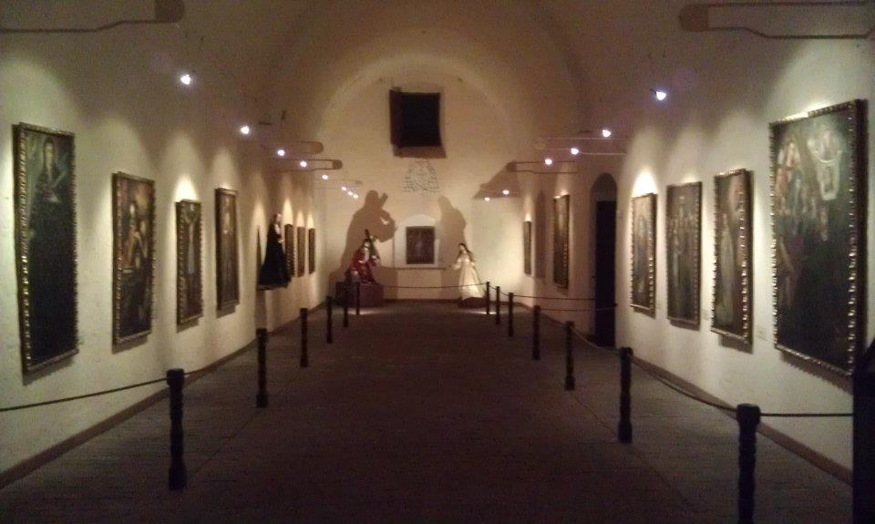 The large halls of the Santa Catalina Monastery have been converted into art galleries where spectacular pieces of religious art are displayed.
