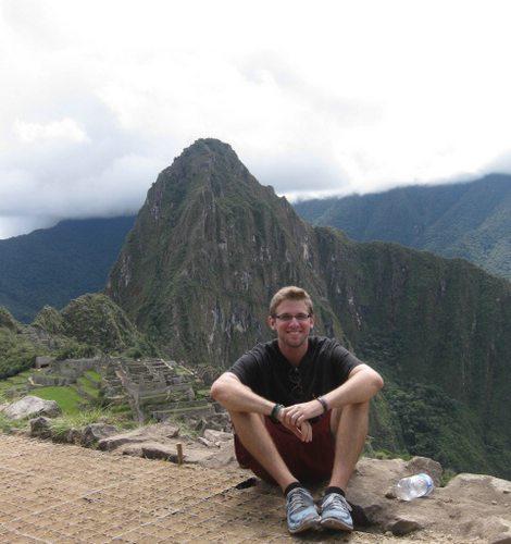 Michael in Machu Picchu