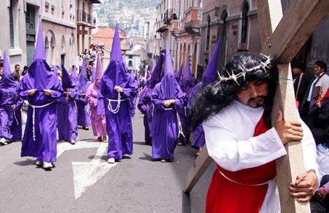 Procesion Jesus de Gran Poder, Quito
