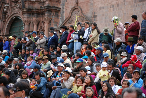 Palm Sunday, Cusco