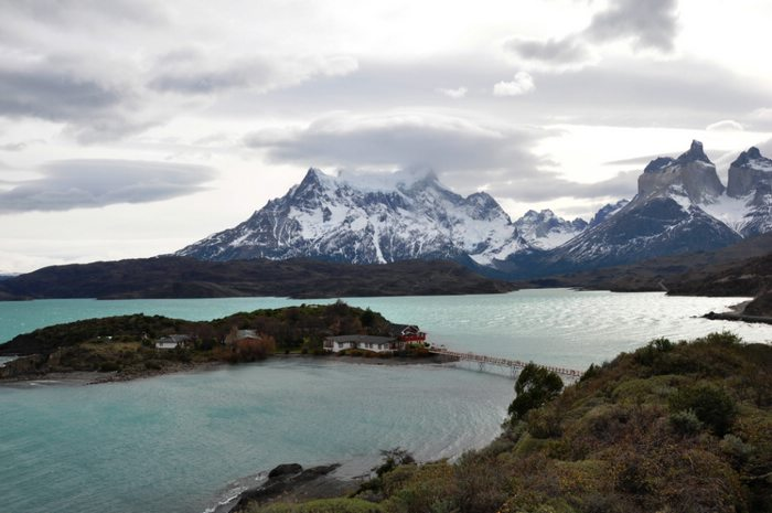 Lago Pehoe, Chile
