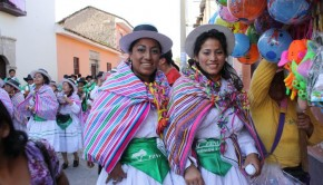 Festive Easter celebration in Ayacucho