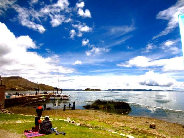 Check out the beautiful view of Lake Titicaca that Daloma captured on one of her many visits to Puno