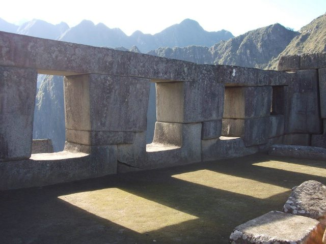 Temple of 3 Windows, Machu Picchu, Peru travel