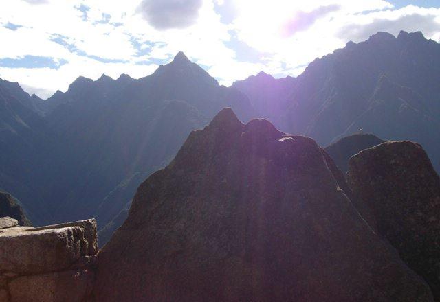 Machu Picchu, shortly after sunrise