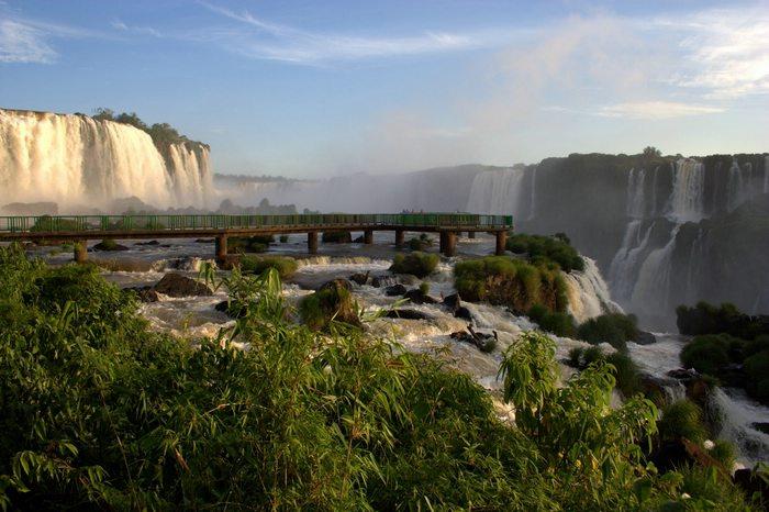 Iguazu Falls from the Argentina side