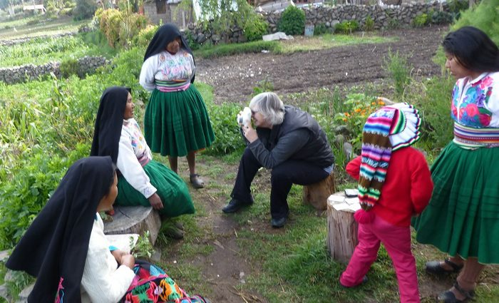 Giving Back in Lake Titicaca