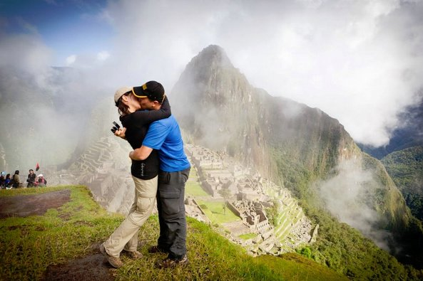 Michael and Stephanie Machu Picchu proposal