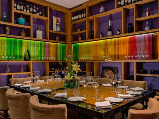 Private dining room at Maras Restaurant. Photo from Maras website