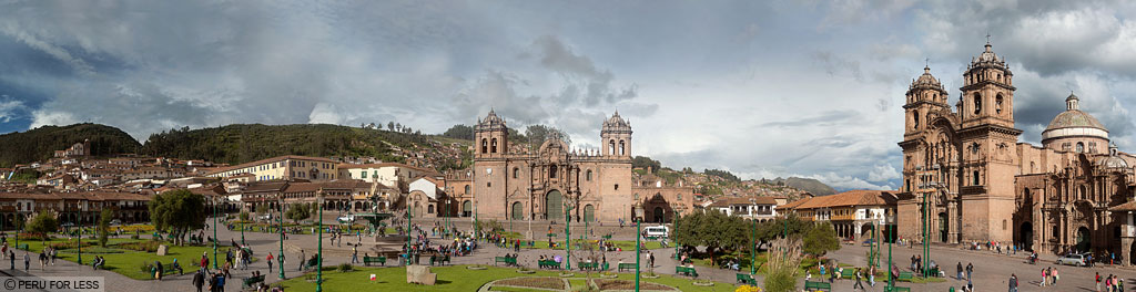 Plaza de Armas in Cusco, Peru, Peru vacations, Peru for Less