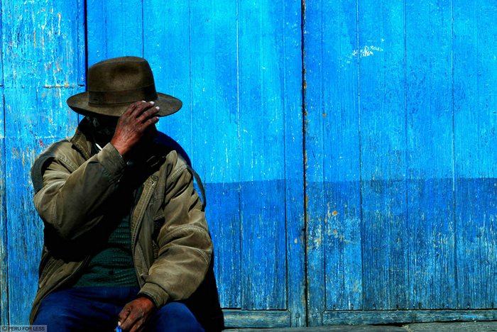Pensive In Blue, Peru vacations, Peru For Less