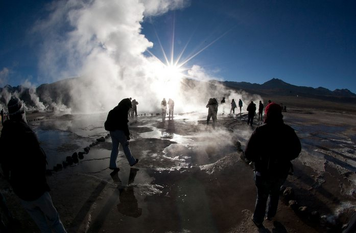 El Tatio geysers, Atacama desert, Chile, Peru For Less