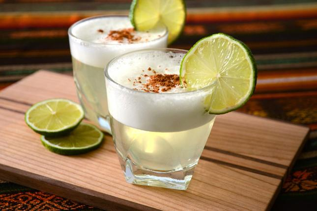 Raise your glass for pisco sour