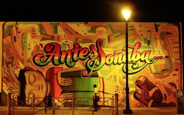 Street art by Eliot Tupac