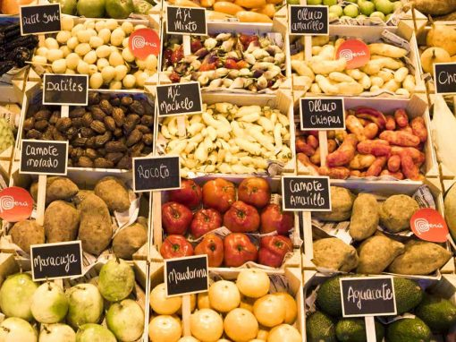 A selection of Peruvian superfoods.
