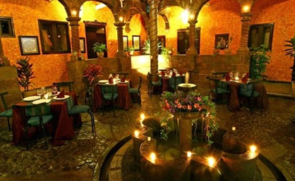 Andean Wings Courtyard Restaurant, cusco, hotel, travel guide,Peru For Less