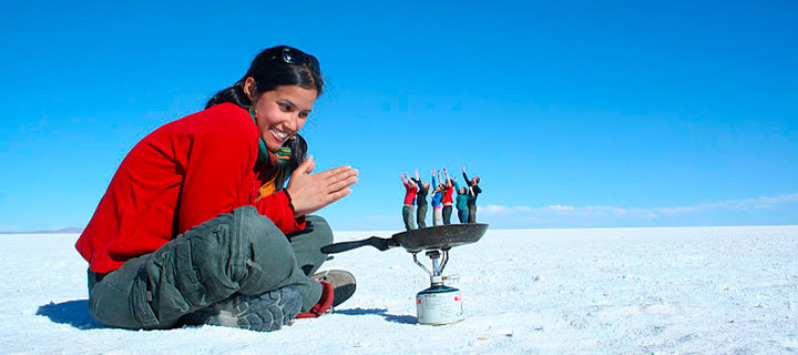 Today's lunch special: 6 pint-sized travelers served with a side of salt. Photo from Pirwa Hostel Peru