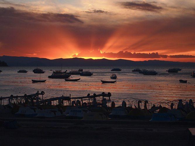 Returning Home, Bolivia sunset, Peru For Less