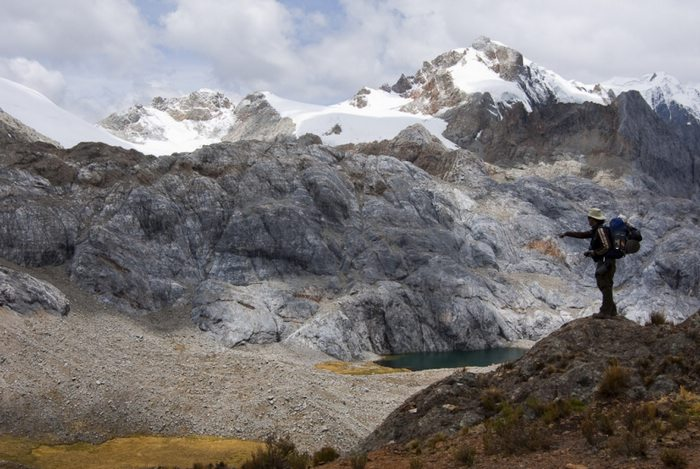 Outside of Huaraz, Ancash, Peru. Photo by Stéphane Vallin/Yunka Trek