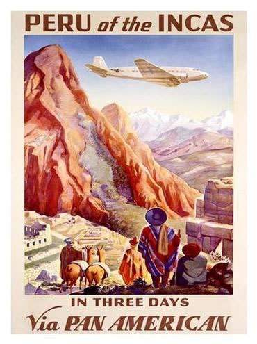 peru-of-incas travel poster