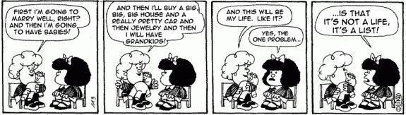 Mafalda by Ortiz