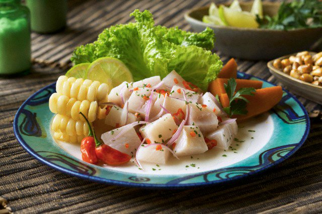 An expertly prepared Ceviche. Photo by Off Road Adventures