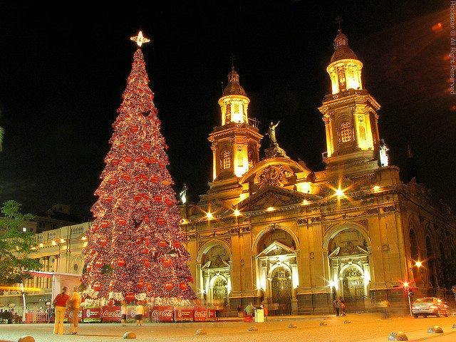 santiago, chile, christmas, peruforless