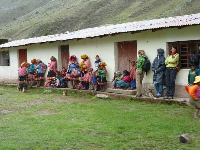 A local community in the Peruvian Andes