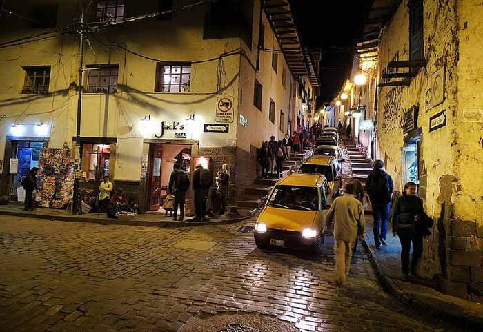 Jacks Cafe in Cusco, Peru