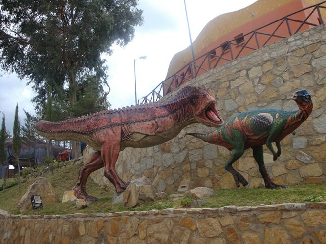 dinosaur park in Bolivia, Sucre, Latin America For Less