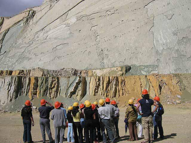 dinosaur tracks, Sucre, Bolivia, Latin America For Less