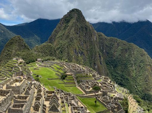 The awe-inspiring Inca ruins of Machu Picchu, one of the New 7 Wonders of the World.