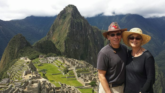 couple at Machu Picchu, Cusco, Peru, Peru For Less
