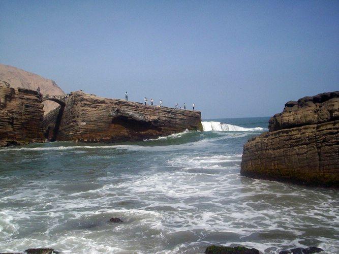 """Pasando el Puente"", La Herradura, beaches, Lima, Peru, Peru for Less"