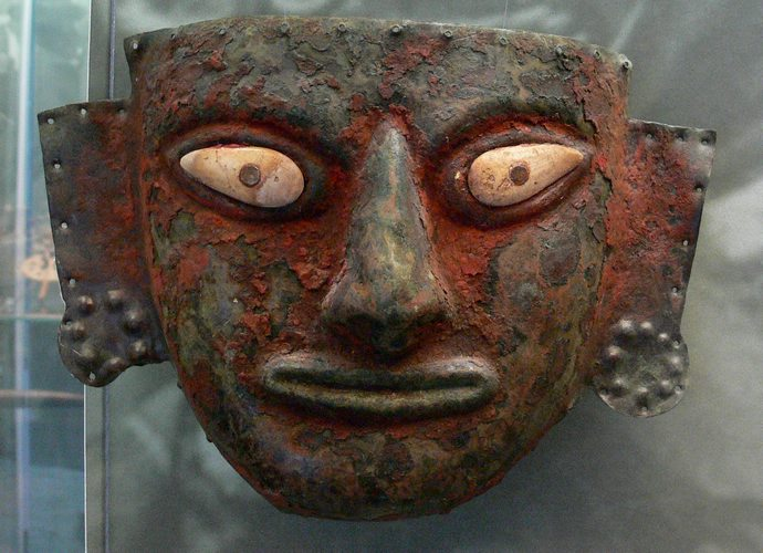 Moche Funerary Mask, Peru, Peru For Less