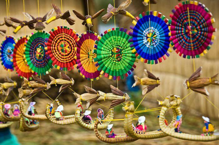 Titicaca souvenirs, Lake Titicaca, Puno;Peru For Less