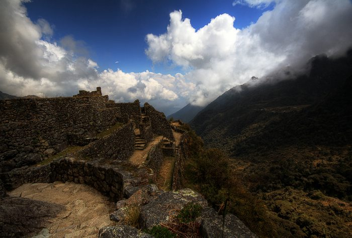 Inca Trail ruins, Machu Picchu, Peru For Less