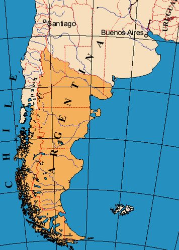 Patagonia map, Latin America For Less