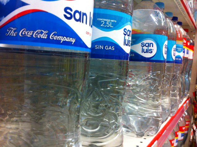 San Luis bottled water, Peru