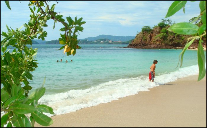 Costa Rica beach Playa Conchal