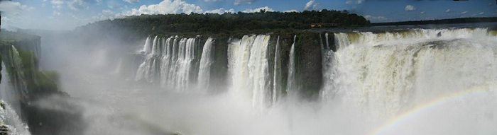Panoramic of Iguazu - Will Russell