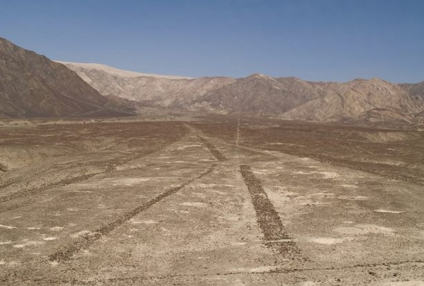 lines built by the Paracas people centuries prior to the Nazca people