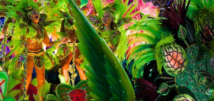 celebrating Carnival in Brazil