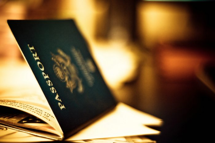 international travel with a passport is a must