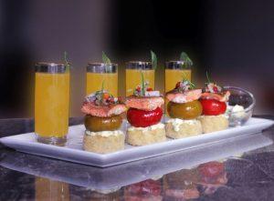 A taster platter at Casta Fior restaurant in Arequipa