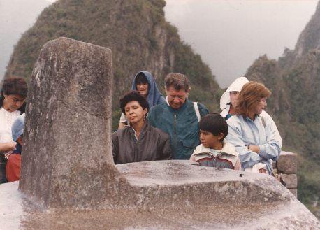 Machu Picchu in the 1980s