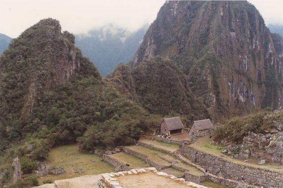 Machu Picchu in the 80s