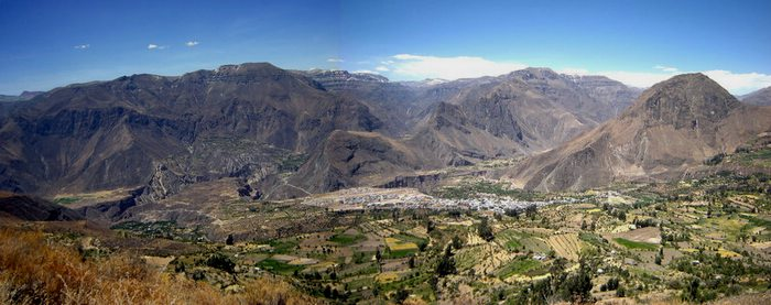 Panoramic View of Cañon de Cotahuasi