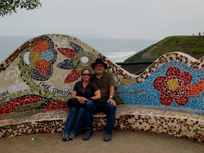 Parque Amor in Lima
