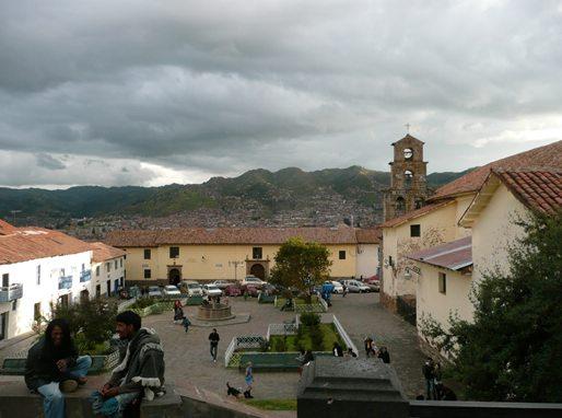 Walking around in Cusco